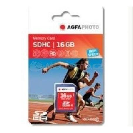 AgfaPhoto SDHC Card 16GB Class 10 / High Speed / MLC