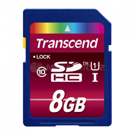Transcend SD Card SDHC 8GB Class 10 / UHS-I