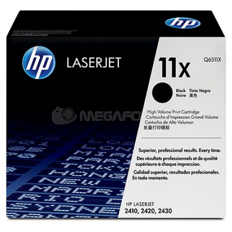 HP Toner Black Q6511X