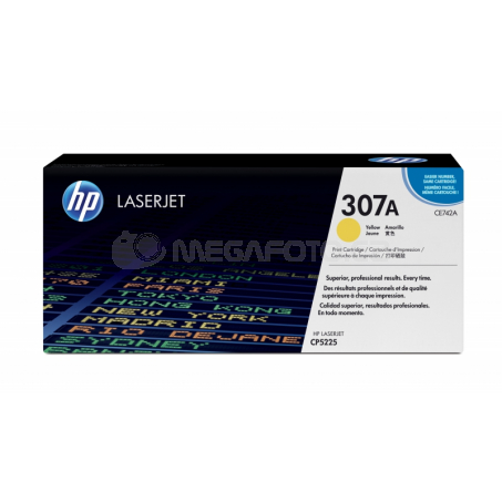 HP Toner yellow CE742A