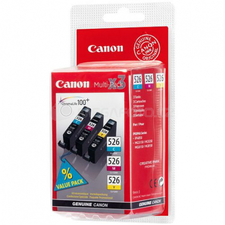 Canon Tinte Multipack CLI-526C/M/Y