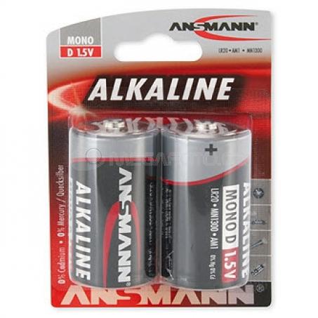 Ansmann Alkaline Red Mono D