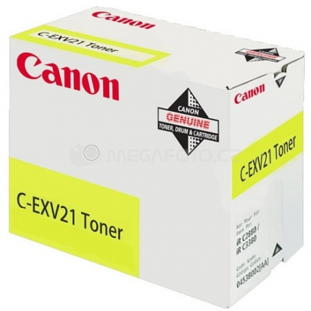 Canon C-EXV21 yellow