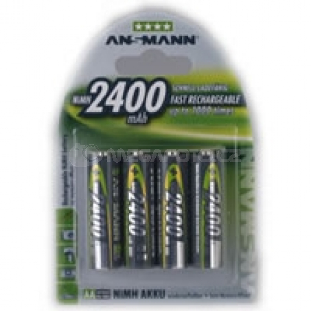 Ansmann 2400mAh NiMh Photo 2x AA