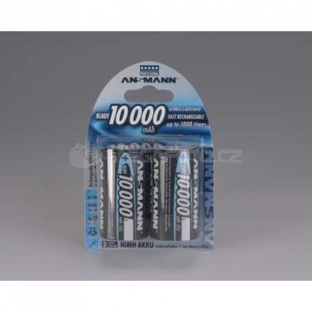 Ansmann 10000mAh NiMh Professional 2xD