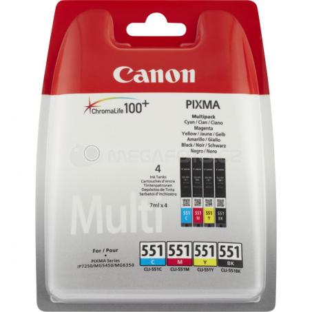 Canon CLI-551C/M/Y/BK w/o sec