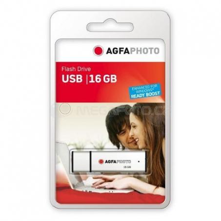AgfaPhoto USB Flash Drive 2.0, 16 GB