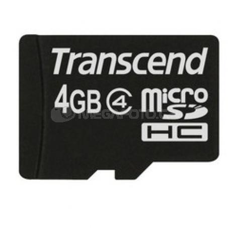 Transcend microSDHC 4 GB Class 4