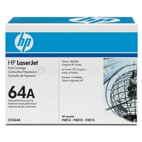 HP Toner  BK CC364A