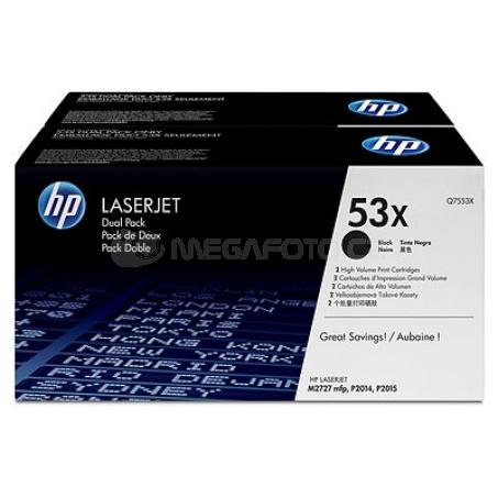 HP Toner Q7553XD black 53X