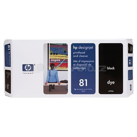 HP cartridge 81 Printhead BK C4950A