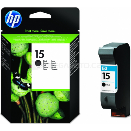 HP Nr.15 cartridge Q BK C6615D