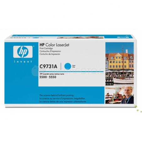 HP Toner C9731A cyan 645 A
