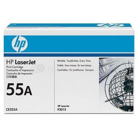 HP Toner CE255A black 55 A