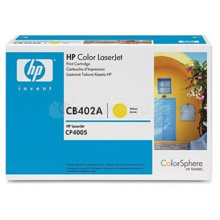 HP Toner  YE CB402A