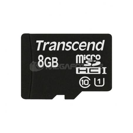 Transcend MicroSDHC Card 8GB Class 10 UHS-I