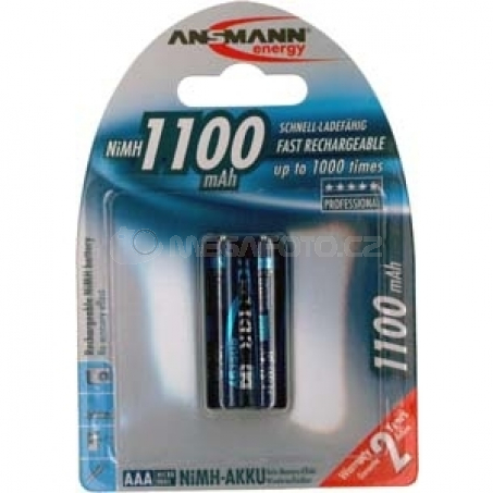 Ansmann NiMH Micro/AAA 1100mAh 2x
