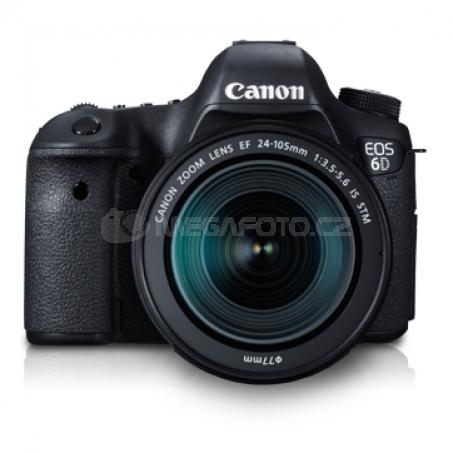 Canon EOS 6D černá + 24-105 mm IS STM