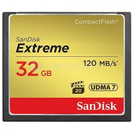 SanDisk CompactFlash Extreme 32 GB (SDCFXSB-032G-G46)