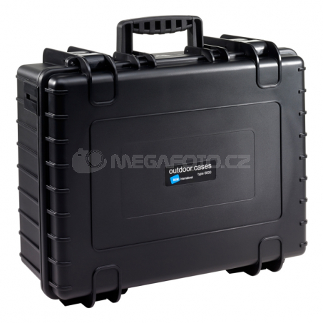 B&W International Outdoor Case type 6000 Padded [6000/B/RPD]