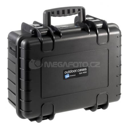 B&W International Outdoor Case type 4000 Padded [4000/B/RPD]
