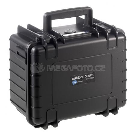 B&W International Outdoor Case type 2000 Padded [2000/B/RPD]