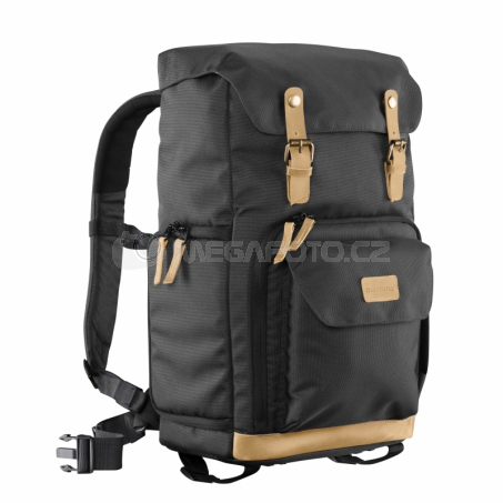 mantona Backpack Luis green Retro [21343]