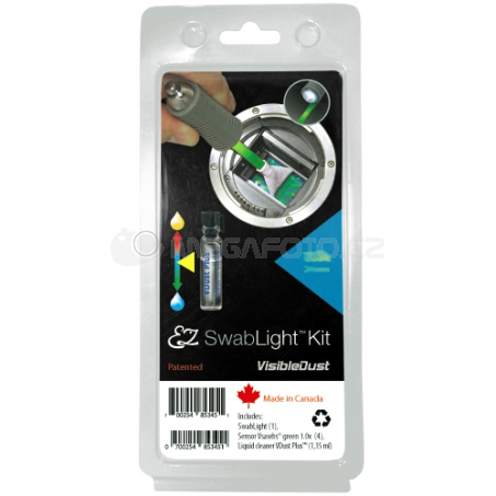 Visible Dust EZ SwabLight Kit Vdust Green Vswabs 1.0x [14856533]