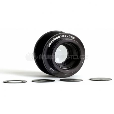 Lensbaby Velvet 85 silver Canon EF [LBV85SEC]