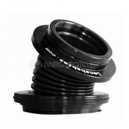 Lensbaby Velvet 85 silver Nikon F [LBV85SEN]