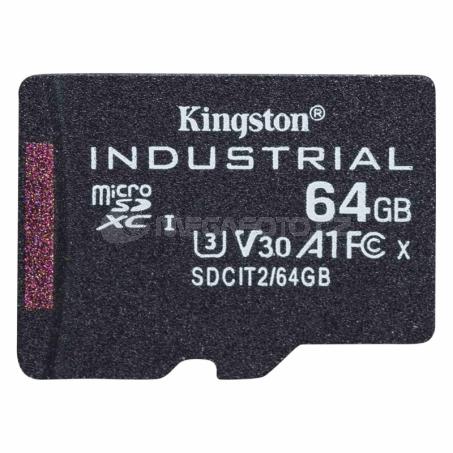Kingston Industrial microSDXC 64 GB [SDCIT2/64GBSP]