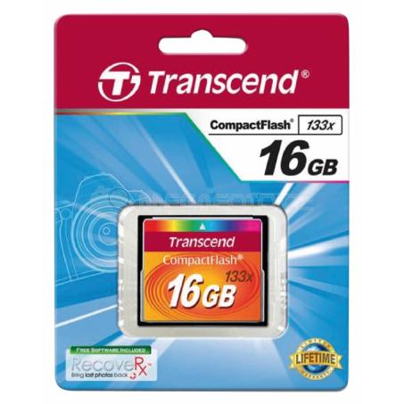 Transcend 133x CompactFlash 16 GB
