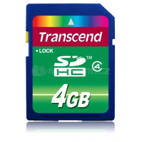 Transcend SDHC 4 GB