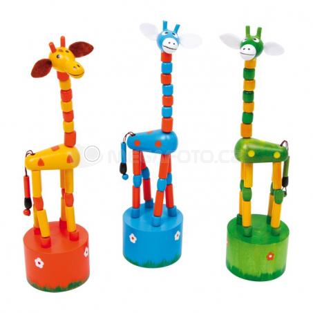 Mačkacie figúrky Žirafky (3 ks)
