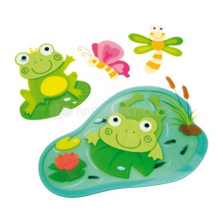 Dekorácia žaby