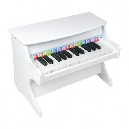Detský klavír biely