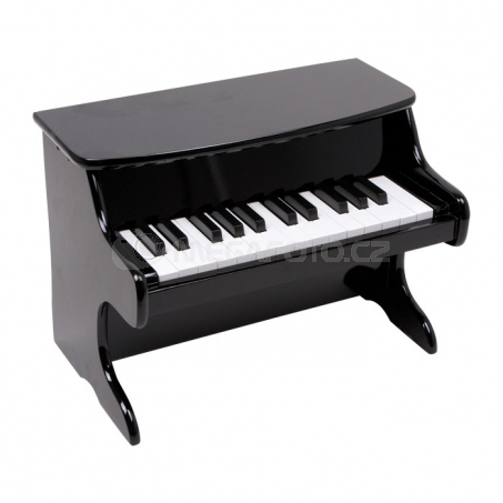 Detský klavír čierny