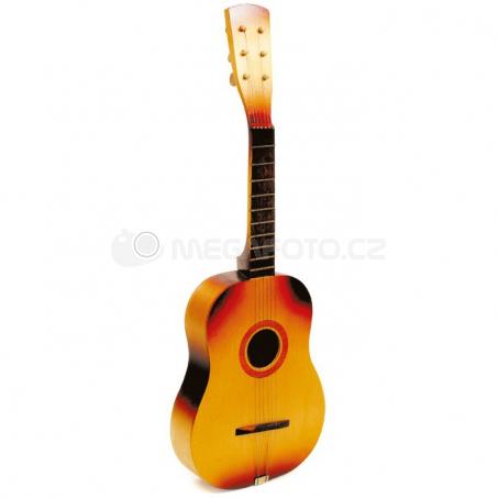 Gitara s kovovými strunami