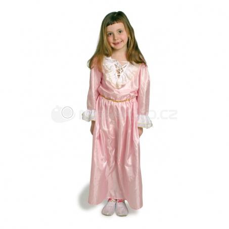 Šaty princeznej ružové