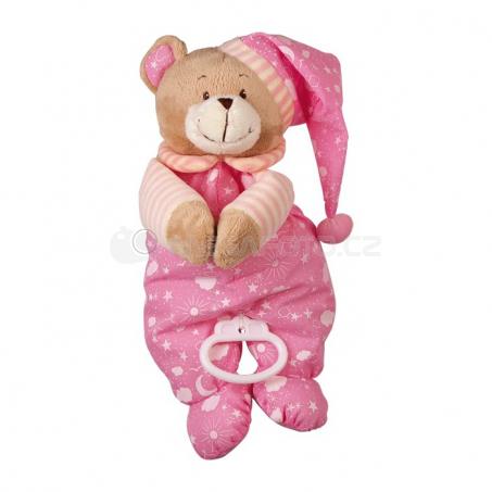Uspávanka medvedík ružový