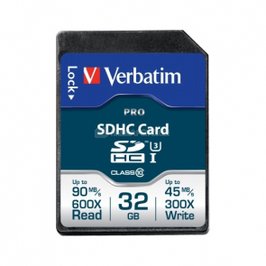 Verbatim SDHC Pro UHS-I 32 GB (47021)