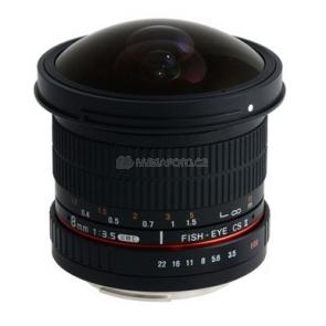 Samyang 8/3,5 UMC Fish-Eye CS II pro Canon EF