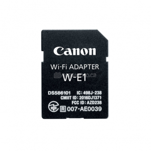 Canon W-E1 WiFi Adapter [1716C001]