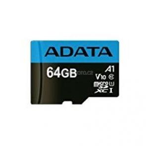 ADATA Premier microSDXC UHS-I 64 GB [AUSDX64GUICL10A1-RA1]