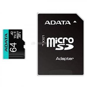 ADATA Premier Pro microSDXC 64 GB [AUSDX64GUI3V30SA2-RA1]