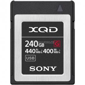 Sony XQD Memory Card G 240 GB [QDG240F]