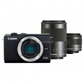 Canon EOS M200 + 15-45 + 55-200 IS STM