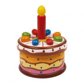 Hrajúca narodeninová torta