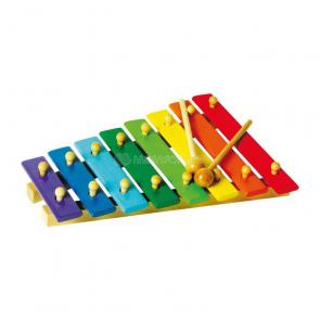 Xylofón farebný, 8 tónov