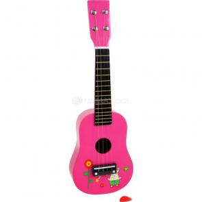 Detská gitara s obrázkami